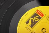 Stax Vinyl Record Label