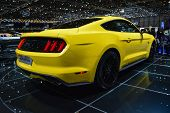 2015 Ford Mustang At The Geneva Motor Show