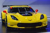 Chevrolet Corvette C7.r At The Geneva Motor Show