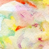 Abstract watercolor hand painted background. Paper texture.