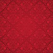 abstract seamless ornament pattern  illustration. Rasterized Copy