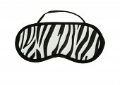 Zebra pattern Eye Mask