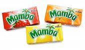 Colorful Mamba Fruit Chews