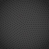 Abstract Background Texture of Grill Metal Plate