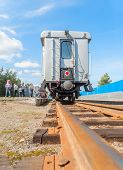Tyumen Children's railroad. Russia