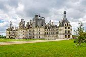 Northwest Fascade Of The Chateau De Chambord