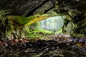 Coiba Mare Cave In Romania, Entrance