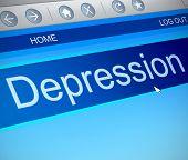 Depression Concept.