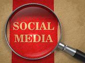 Social Media through Magnifying Glass.