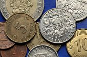 foto of lats  - Coins of Latvia - JPG