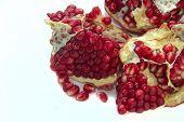 Cut The Fruit Pomegranate