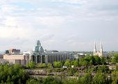 Ottawa View Of National Gallery And Notre Dame 2008