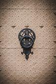 door knocker, Spanish city of Valencia, Mediterranean architecture