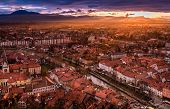 A View Of Ljubljana From The Castle, Slovenia