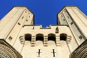 image of avignon  - The Popes Palace in Avignon France UNESCO World Heritage Site - JPG