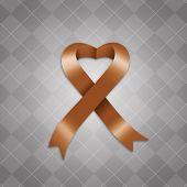 Awareness Brown Ribbon