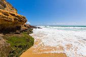 Beach Near Lagos, Algarve, Portugal