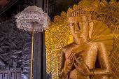 Buddha Straw Statue, Inle Lake, Myanmar (burma)