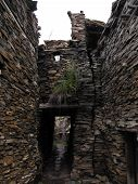 Medieval Himalayan Village Built Out Of Loose Stone