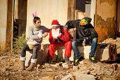 Depressed  Santa