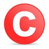 copyright web icon
