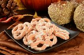 Pumpkin Pie Pretzels And Caramel Apples