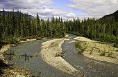 Alaska river bend