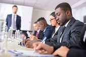 stock photo of applause  - Business conference - JPG