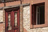 Old country house facade