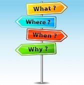 Questions Arrows