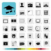 Education Icon in Business Category Concept