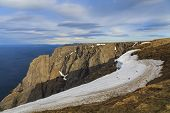 North Cape, Nordkapp, The Most Northern Point Of Europe, In Norway