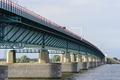 Bridge between Willemstad and numansdorp Netherlands