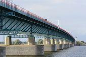 Bridge between Willemstad and numansdorp Netherlands
