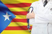 Concept Of National Healthcare System - Catalonia - Estelada