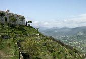 Saint Benedict abbey. Italy.