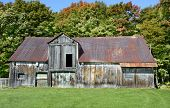 Old damaged Barn in the Country