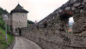 Trencin Castle wall