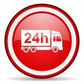 delivery web icon