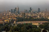 View Over Milan City
