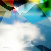 eps10 vector geometric shape colorful business background