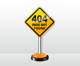 picture of not found  - illustration of web site for page not found concept - JPG