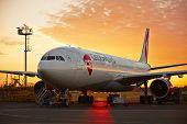 Airplane Under Maintenance