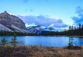 Sunrise at the Bow Lake