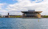 picture of hen house  - View of Copenhagen Opera House in Denmark - JPG