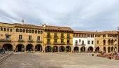 Picture of plaza mayor in poble espanyol - barcelona.