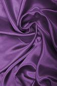 Smooth Elegant Lilac Silk As Background