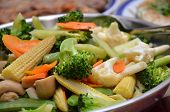 Stir-fry Of Various Type Of Vegetable