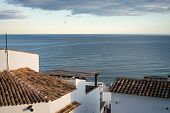 pic of costa blanca  - Rooftops of Altea old town overlooking the Mediterranean Costa Blanca Spain - JPG