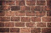 High Resolution Orange Modern Pattern Of Brick Wall